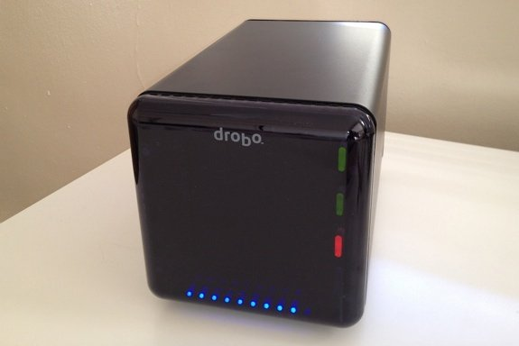 Drobo with Faceplate On
