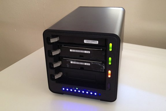 Drobo with New Drive In