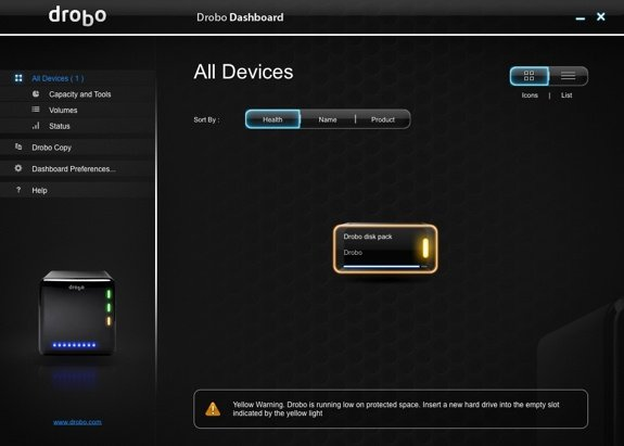 Drobo Dashboard Full