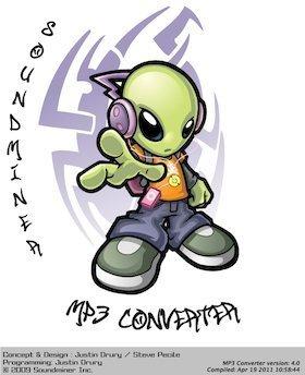 MP3 Converter Splash Page