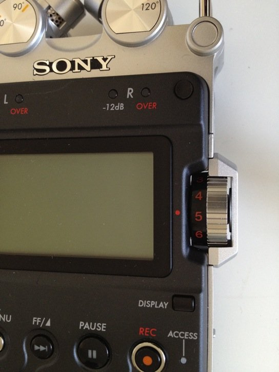 Sony PCM-D50 Analog Level Control