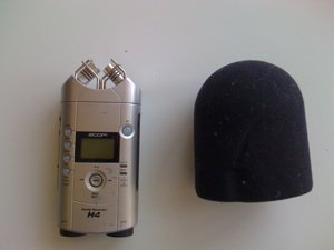 Zoom H4 and windscreen