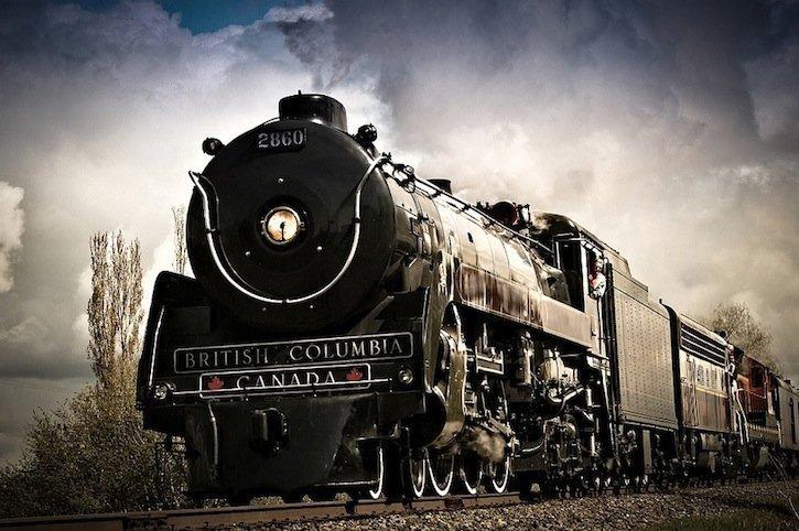 Hudson Steam Train, courtesy Bill Anderson