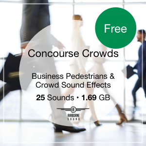 Concourse Crowds Icon, Free