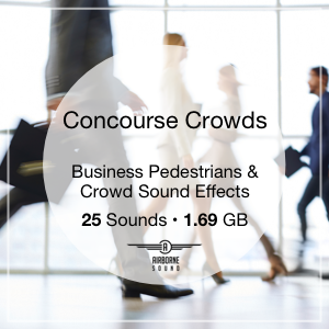 New Free Sound Library Available: Concourse Crowds Sound FX