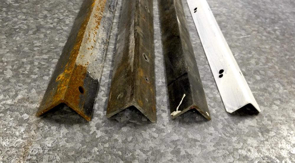 metal angle iron selections