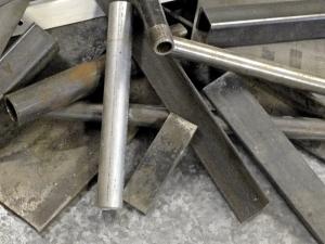 Metal Pile Close Up 2