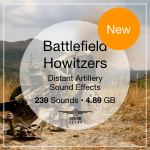 Battlefield Howitzers Sound FX Library - New