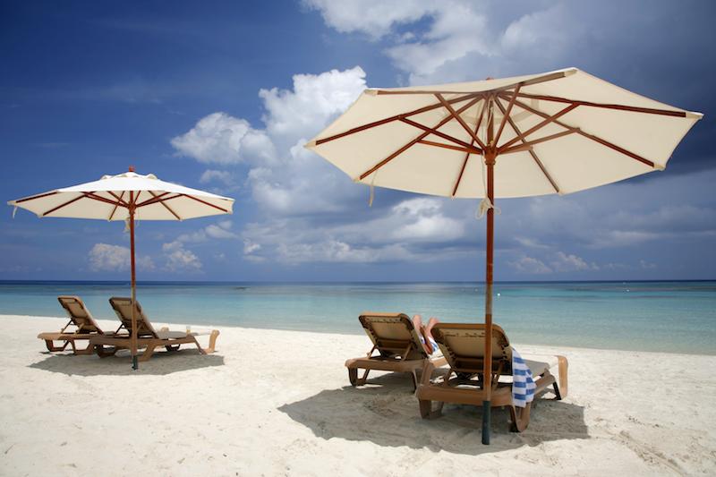 Beach Scene - Airborne Summer Sale