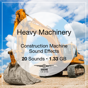 Heavy Machinery Sound Library Icon