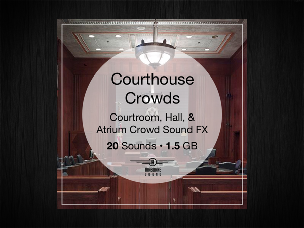 New Free Sound Library: Courthouse Crowds Sound FX