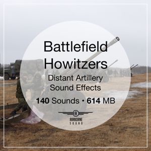Battlefield Howitzers Sound FX Library