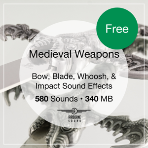 Free Medieval Weapons Sound Effects Library – Curated Edition