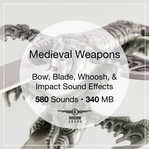 Free Medieval Weapons Sound Effect Library Icon