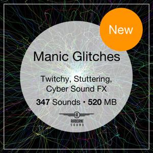 Manic Glitches Sound Effects
