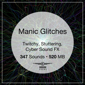 Manic Glitches Sound Effect Library Icon