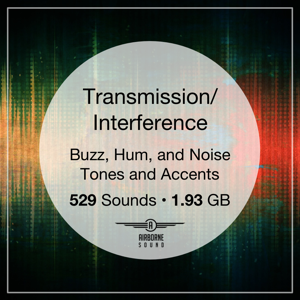 Transmission Interference Sound Effect Library Icon
