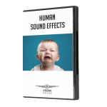 Human Sound Effects DVD Case