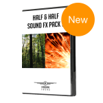 Half and Half Sound FX Pack 2 Case New