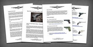Firearm Library Spec Sheet
