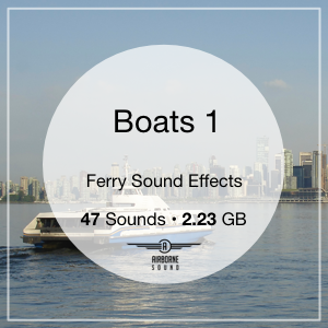Boats 1 Sound Library