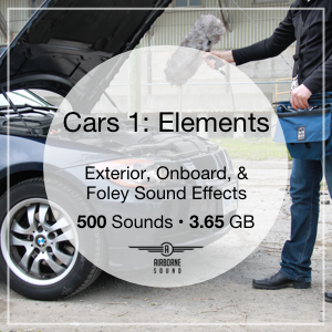 Cars Elements Sound Library