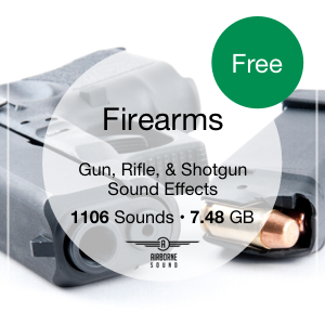 Firearms Sound Library