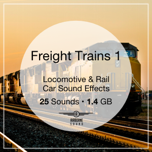 Freight Trains 1 Sound Effects