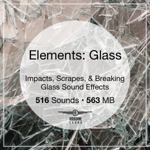 Elements Glass Sound Clips Library