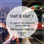 Half and Half Sound FX Pack 1 Sound Library