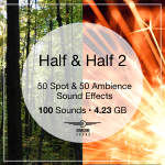 Half and Half Sound FX Pack 2 Sound Library