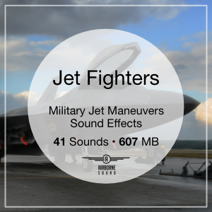 Jet Fighter Maneuvers Sound FX Library