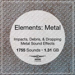 Elements: Metal Sound Effects