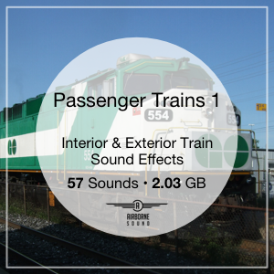 Passenger Trains 1 Sound Library