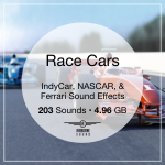 Race Cars Sound Library