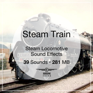 Steam Train Sound Clip Library