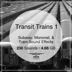 Transit Trains 1 Sound Library