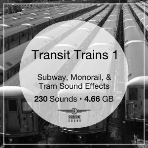 Transit Trains 1 Sound Library