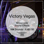 Victory Vegas Motorcycle Sound Library