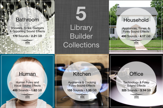 Library Builder Bundle Multi-Pack Combo Full