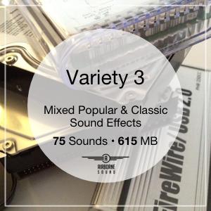 Variety 3 Sound Effect Icon