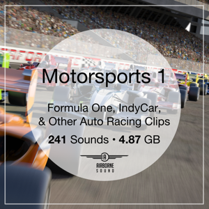 Motorsports 1 Sound FX Library Icon