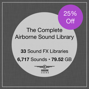The Complete Airborne Sound Library Square 33 300x Seal B