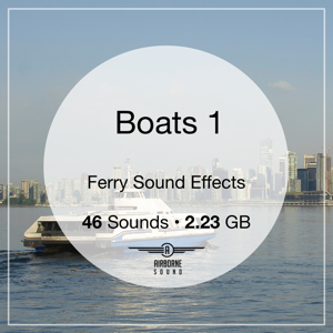 Vehicles: Boats 1: Ferry Sound FX