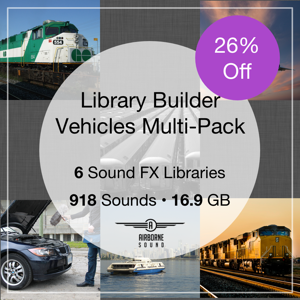 Library Builder Vehicles Multi-Pack Combo
