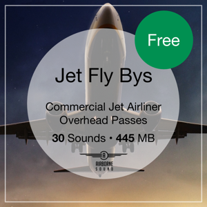 Jet Fly By Sound Effects