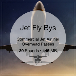 Jet Fly Bys Sound Effect Library Icon