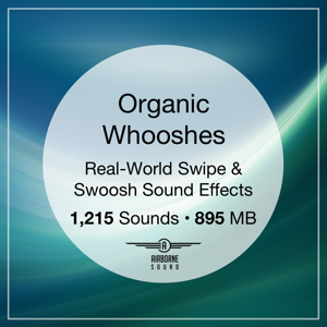 Organic Whooshes Sound Effect Library Icon