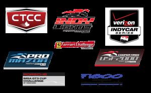 Motorsports 1 Race Logo Montage